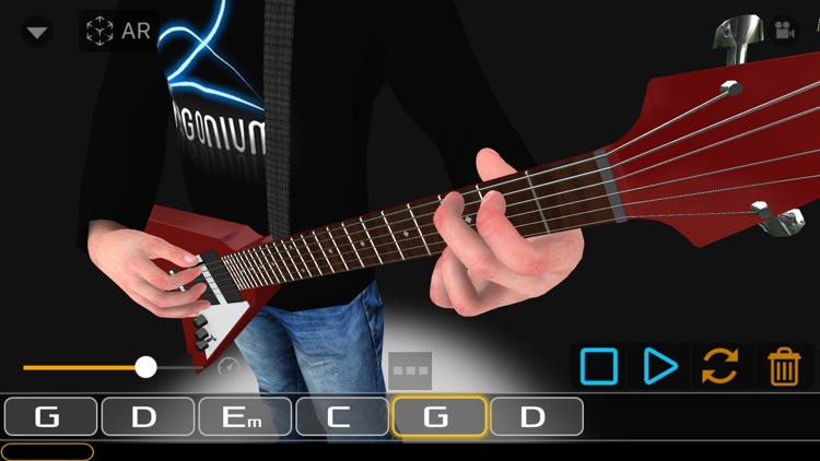 Guitar 3D - AR screenshot-1