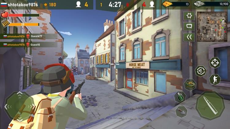 War Ops: WW2 Gun Shooting Game screenshot-7