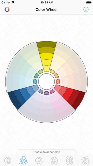 Color Wheel - Basic Schemesのおすすめ画像3