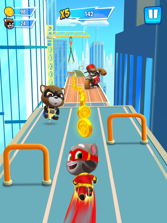 Talking Tom Hero Dash screenshot 7