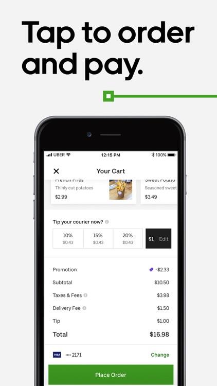 Uber Eats: Order Food Delivery screenshot-3