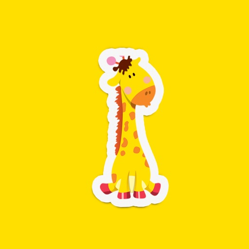 Cute Animal Stickers for Kids