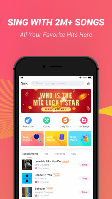 StarMaker-Sing Karaoke Songs - Revenue & Download estimates - Apple