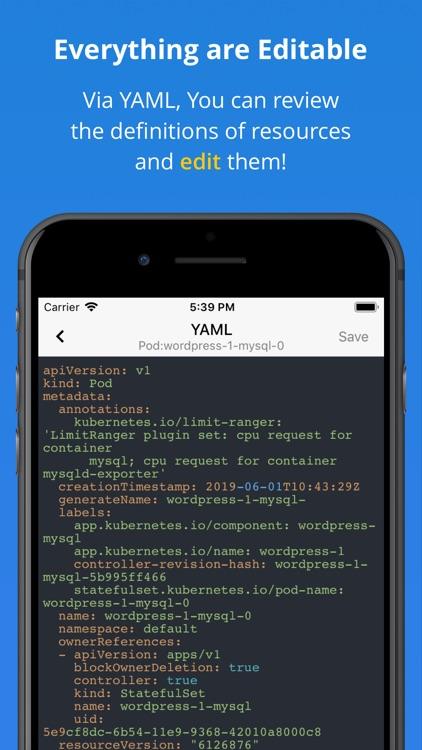 Kuber - Kubernetes Dashboard screenshot-6