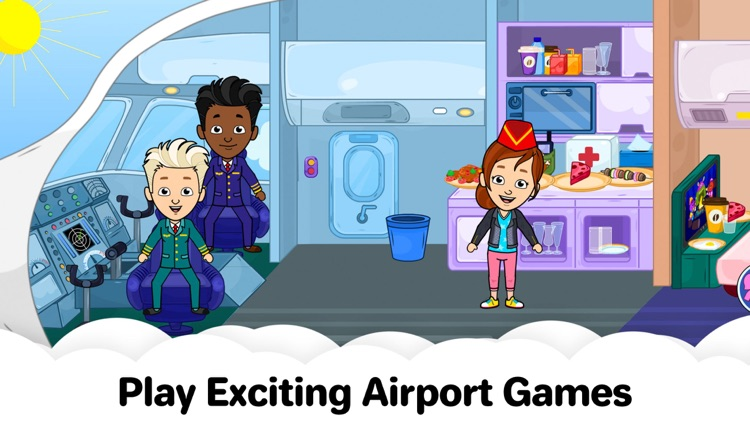 My Tizi Town – Airplane Games screenshot-0