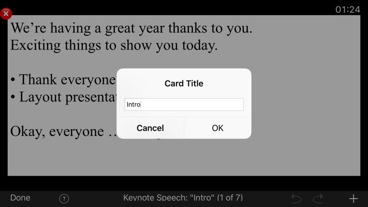 Cue Cards screenshot-4