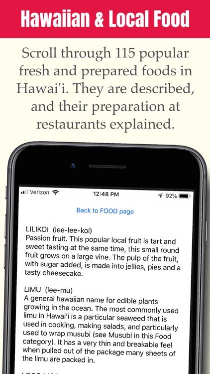 Hawai'i Visitor Dictionary screenshot-4