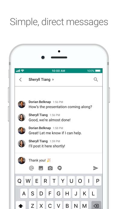 Hangouts Chat screenshot1