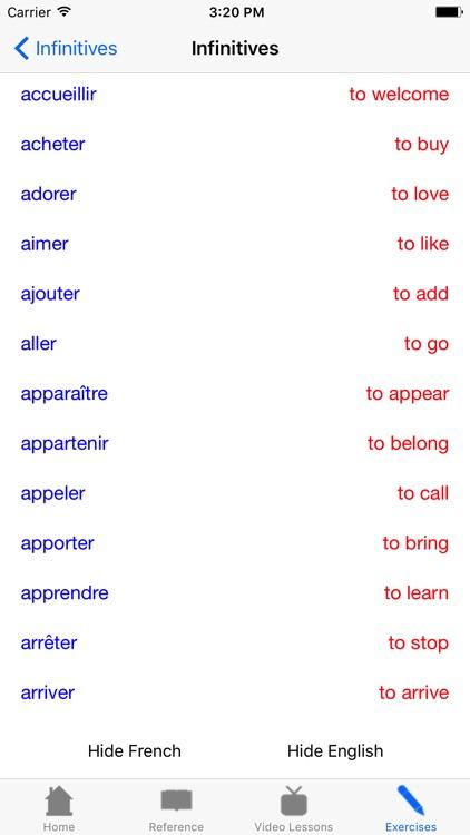 The French Grammar Guide Video screenshot-3