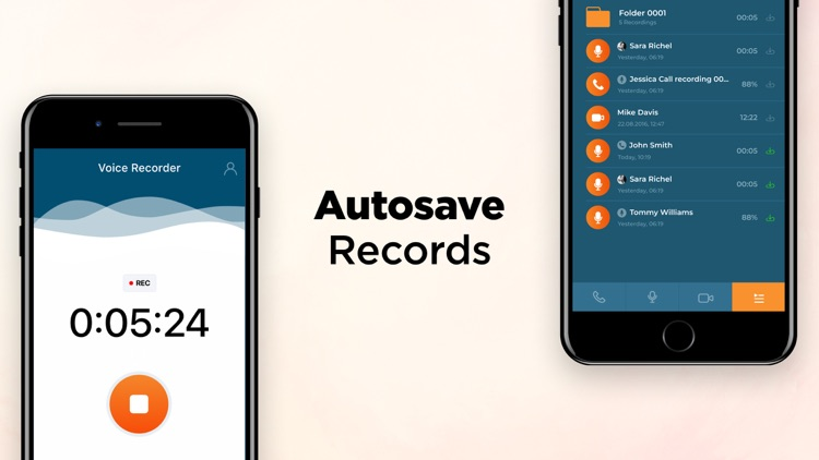 Call & Voice Recorder App screenshot-4
