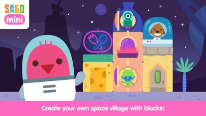 Sago Mini Space Blocks screenshot 1