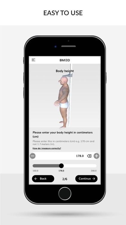 BMI 3D (Body Mass Index 3D) screenshot-5