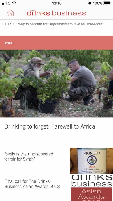 The Drinks BusinessScreenshot of 1