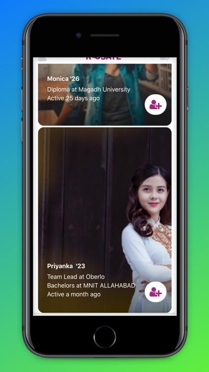 Rosate - Dating & Friends screenshot-7