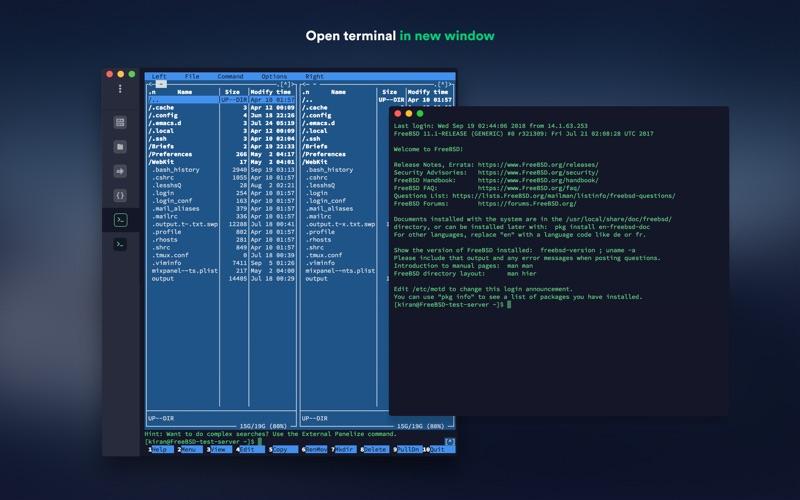Termius Screenshot