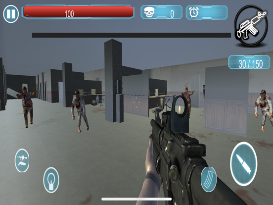 Dead Zombie Killer Sniper 3D screenshot 7