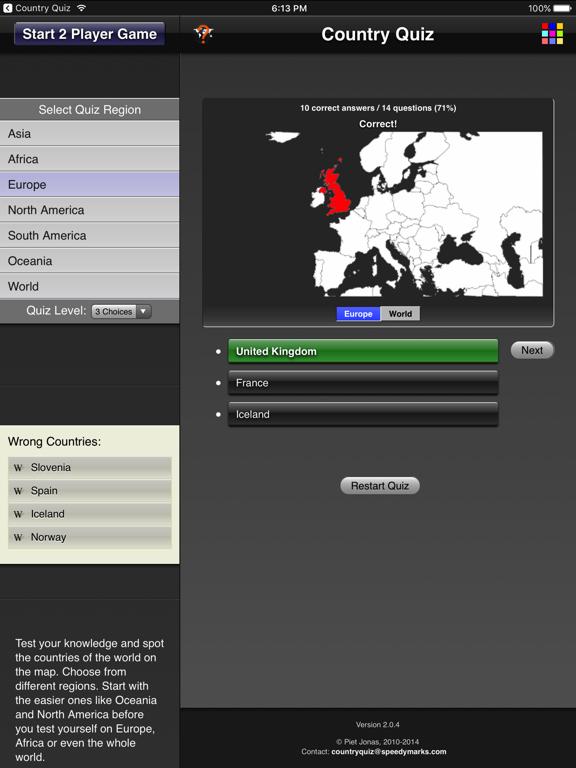 Country Quiz HDのおすすめ画像2