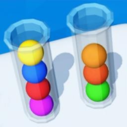 Color Sort 3D - Balls Puzzle