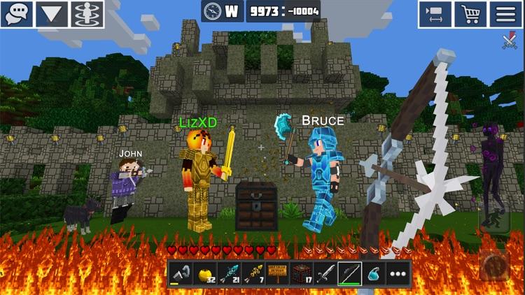 PlanetCraft: Block Craft Games screenshot-7