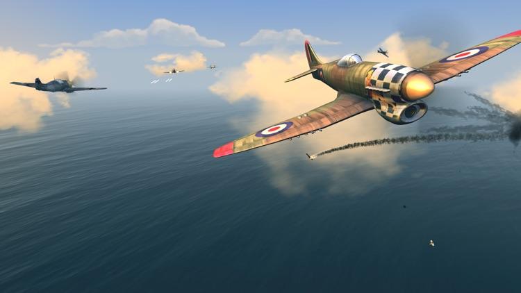 Warplanes: WW2 Dogfight FULL screenshot-3