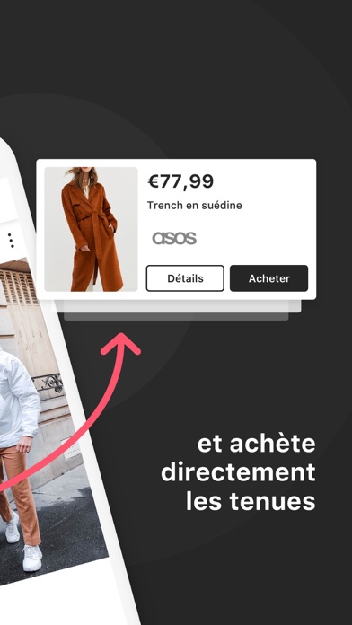 Screenshot for 21 Buttons: Mode et tendances in France App Store