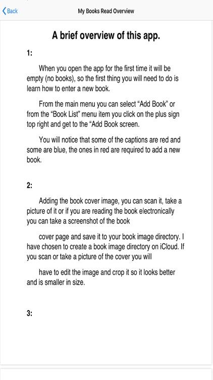 My Books Read screenshot-9
