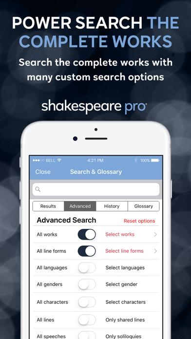 Shakespeare Pro review screenshots