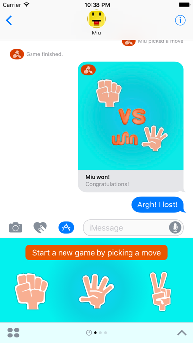 Rock Paper Scissors Chat Game screenshot three