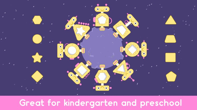 Little Robot Shapes and Colors screenshot-4