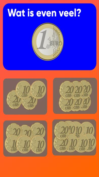 Groep 2 munten screenshot 1
