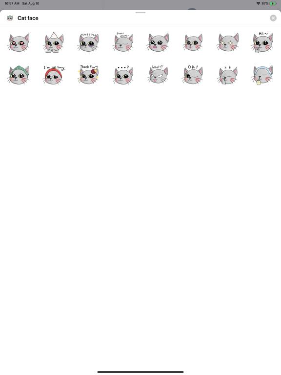 Cat faces screenshot 2