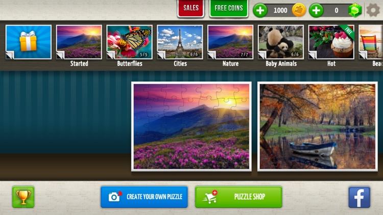 Jigsaw Puzzles World screenshot-6