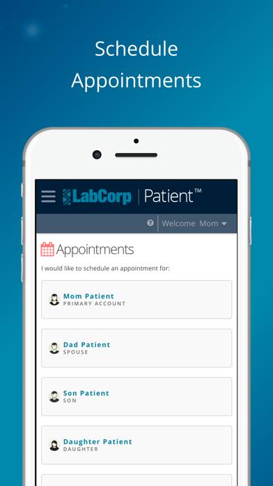 Labcorp   PatientScreenshot of 2