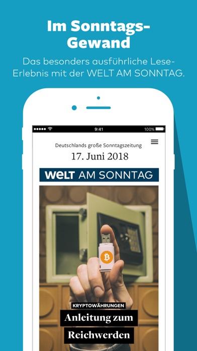 WELT Edition Screenshot