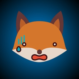 Fox Funny Emoji Stickers