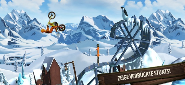 ‎Trials Frontier Screenshot