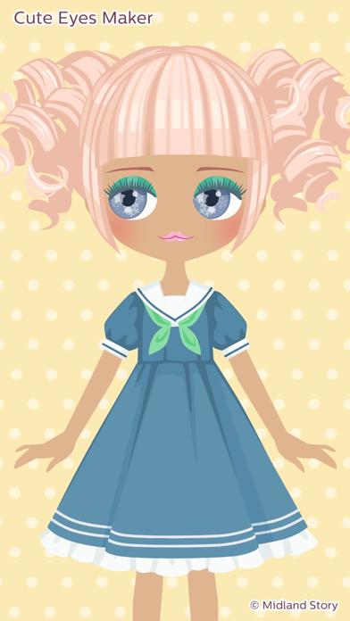Cute Eyes Maker - メイクアップゲームのおすすめ画像2