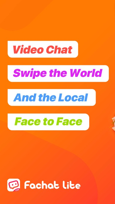 Fachat Lite: Online Video Chat Screenshot