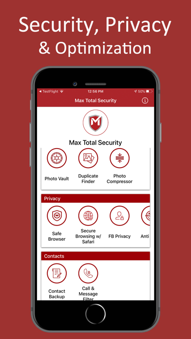 Max Total Security screenshot one