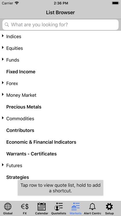 FIS MarketMap Mobile UniCredit screenshot-3
