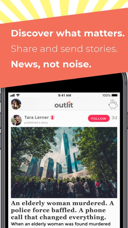 Outlit - Read, Publish, Earn screenshot-3