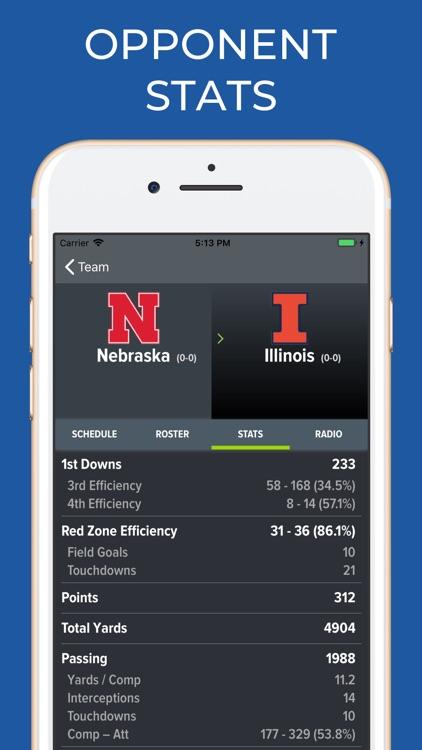 Nebraska Football Schedules screenshot-8