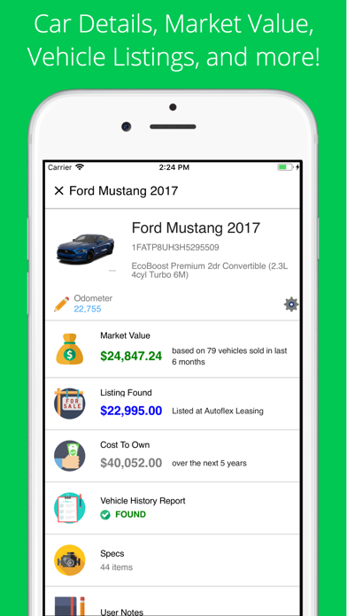 Vehicle Value By Vin >> Vin Check Report For Used Cars By Brad Thome Ios United