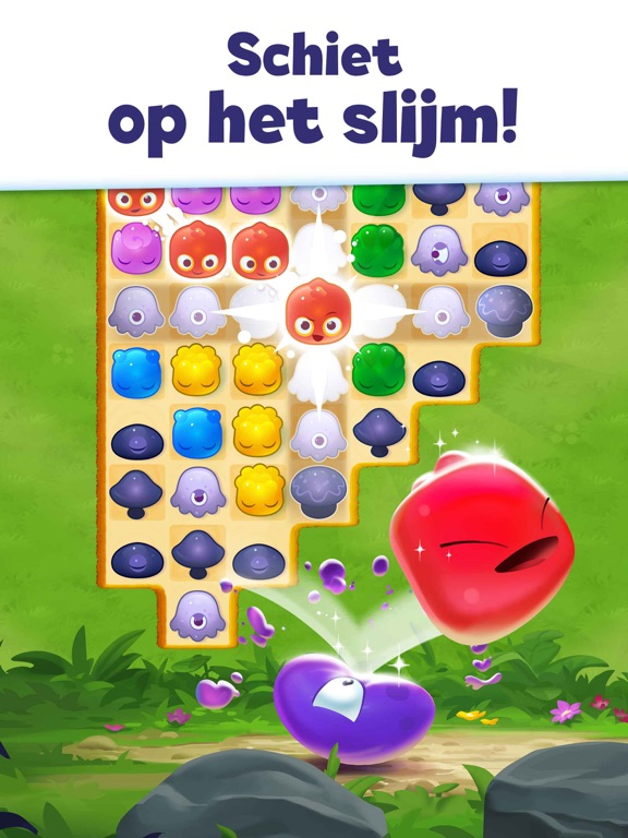 Jelly Splash Match-3 spel iPad app afbeelding 3