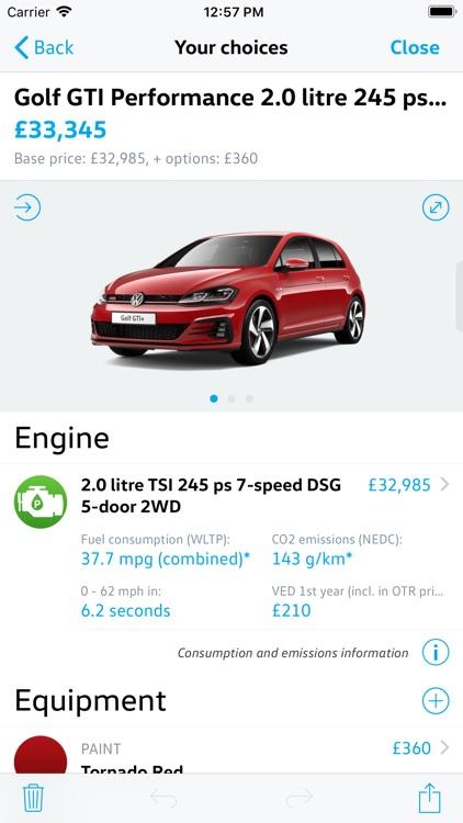 Volkswagen UK Car Configurator screenshot-3