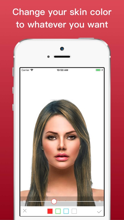 Hairstyle Try On Color Changer screenshot-4
