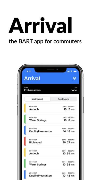 messages.download Arrival BART software