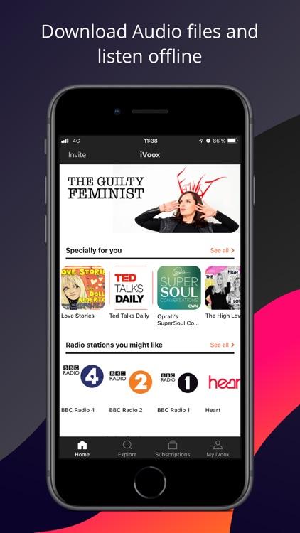 Podcast & Radio - iVoox screenshot-0