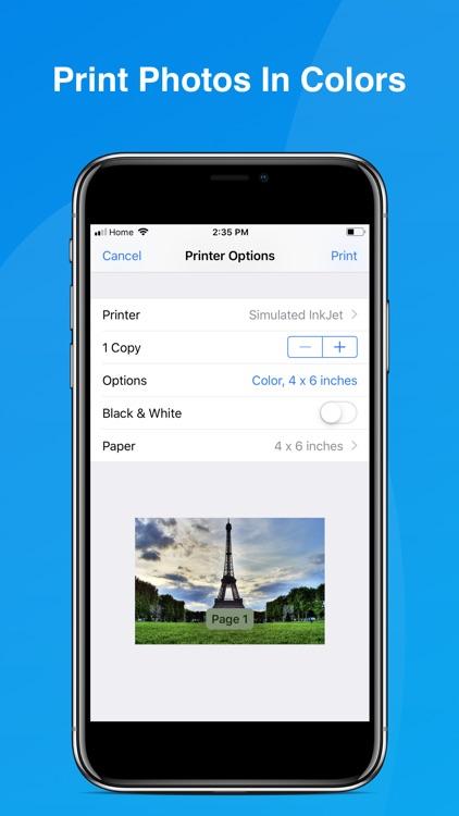 iPrint WiFi Printer - AirPrint screenshot-7