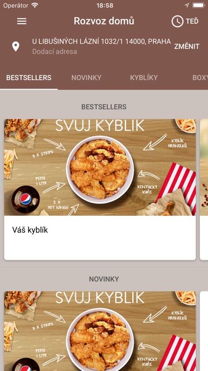 KFC CZ screenshot-3